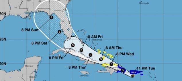 República Dominicana en alerta ante el paso de la tormenta tropical Fred