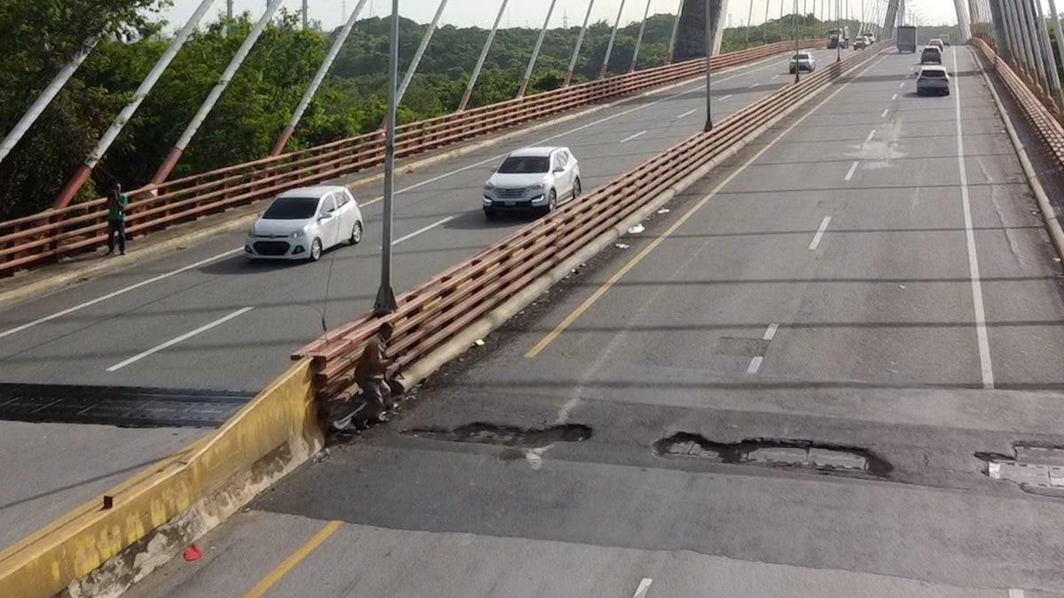 Anuncian cierre puente Mauricio Báez en SPM por reparación de sus juntas y calzada