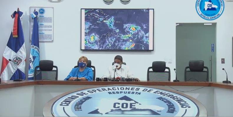 Prevé lluvias por posible tormenta tropical Fred; COE emite alerta para 12 provincias