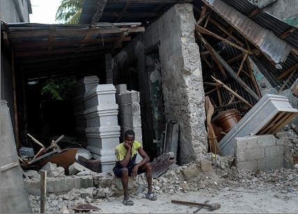 Sube a 1,419 el número de muertos por el terremoto en Haití