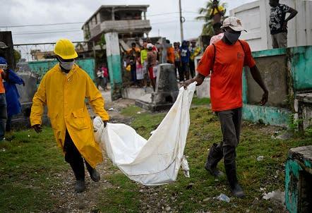 Aumenta a 1,941 la cantidad de muertos por  terremoto de Haití