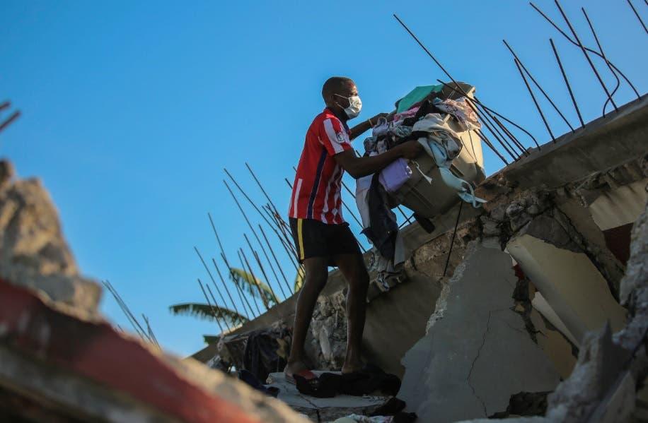 Terremoto en Haití: Vea aquí lo ocurrido en imágenes