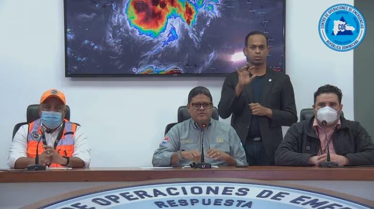 Depresión tropical Grace sale del territorio nacional; personas  movilizadas alcanzan 2,050