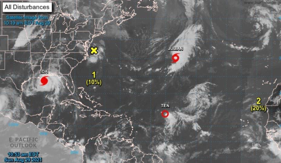 Se forma la tormenta Julian en el Atlántico