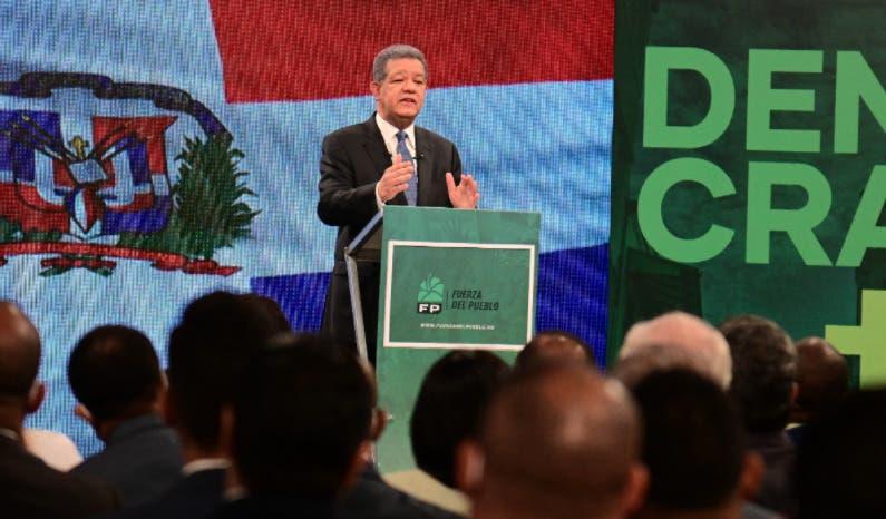Lea aquí el discurso completo del expresidente Leonel Fernández