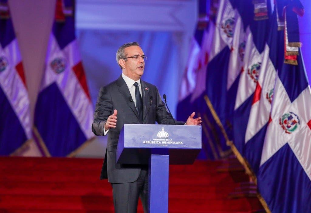 Las frases del presidente Luis Abinader durante discurso por primer año de gestión