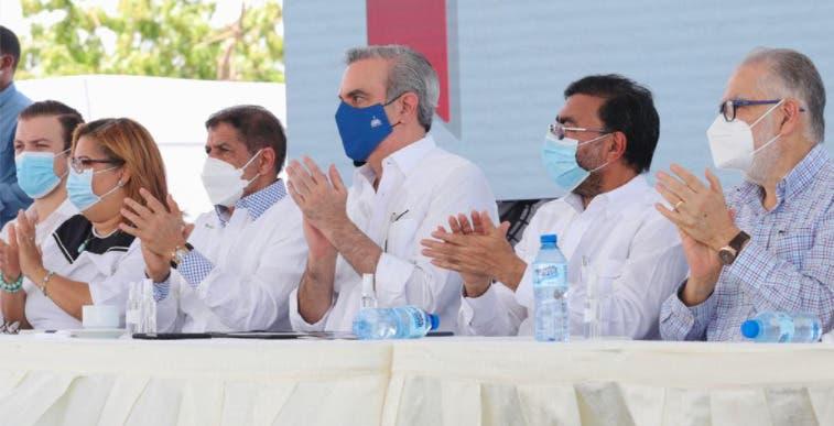 Luis Abinader inaugura proyecto agrícola con inversión  de  RD$724 millones