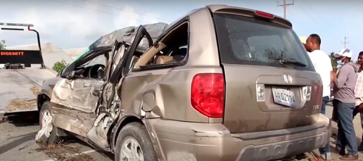 Un niño de tres años muere en accidente de tránsito en carretera San Juan-Azua