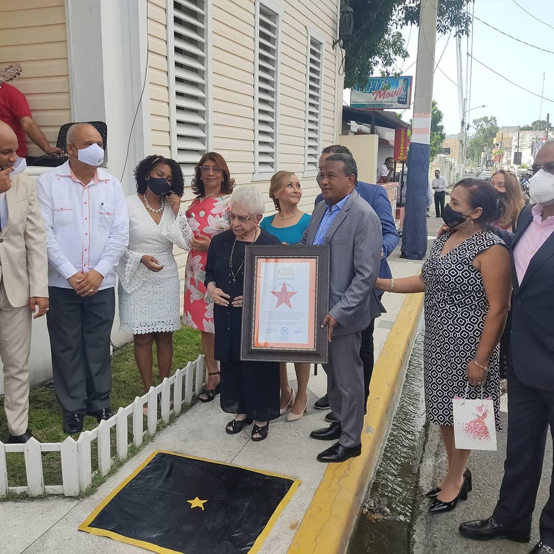 La Voz del Yuna en Bonao develiza estrella en honor a María Cristina en su sexto aniversario