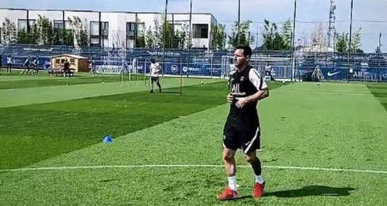 Lionel Messi se entrena por primera vez con el PSG