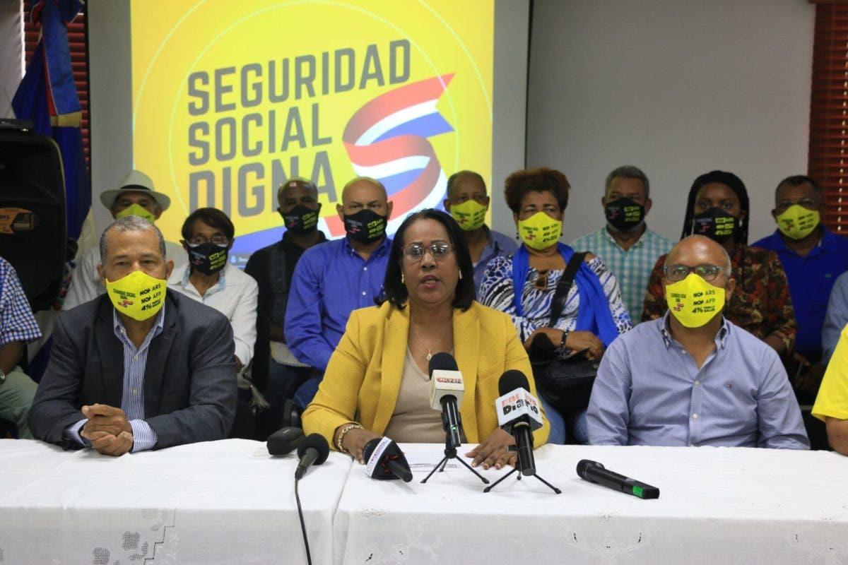 Convocan a marcha en reclamo de modificación de la Ley 87-01 de Seguridad Social