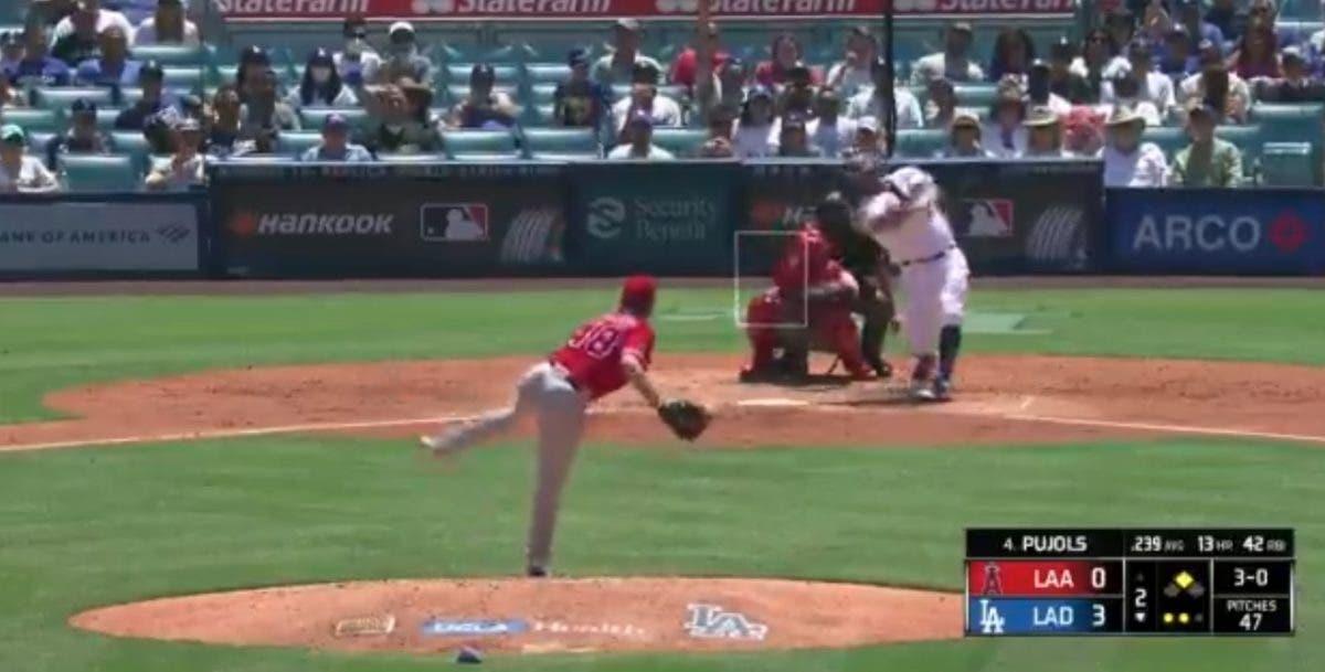 Video: Primer jonrón de Albert Pujols contra su exquipo Los Angelinos de Anaheim