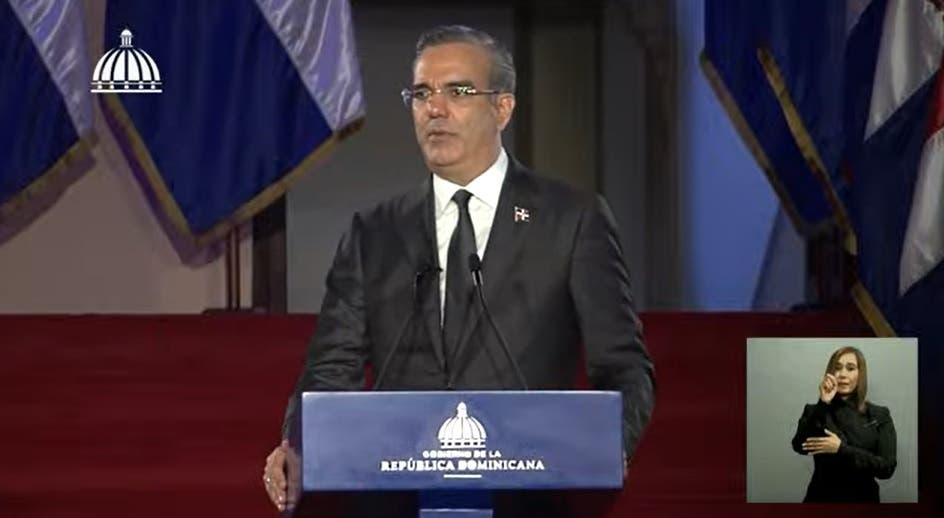 Discurso completo del presidente Luis Abinader sobre su primer año en el poder