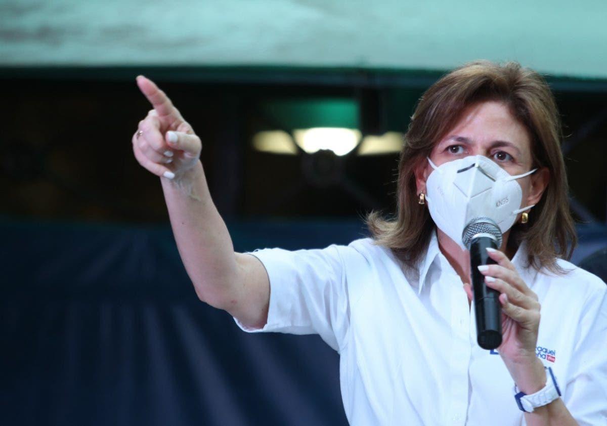 Raquel Peña: «estado de emergencia no se solicitó para quedarnos de brazos cruzados»