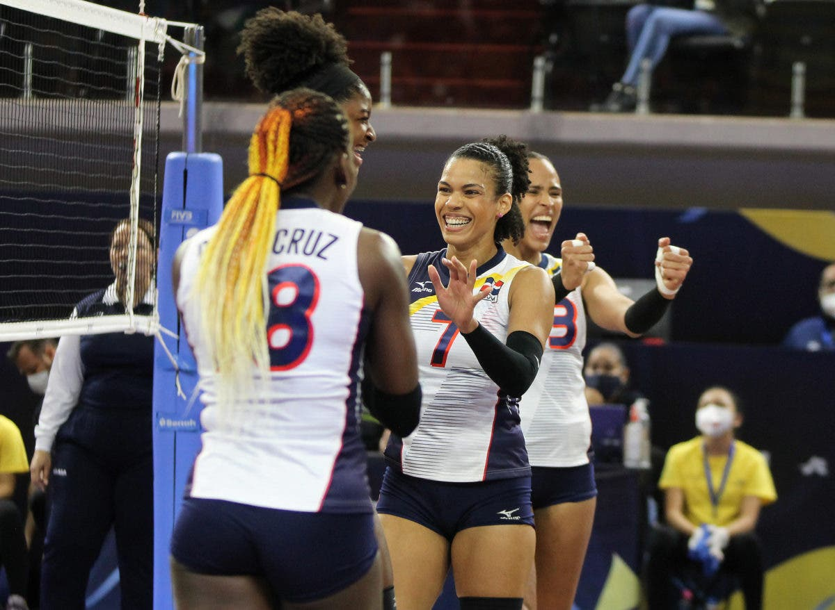 Voleibol RD va hoy contra Estados Unidos en semifinal NORCECA