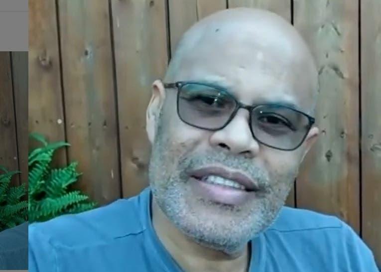 Video de Rubby Pérez hablando sobre cómo se encuentra su salud