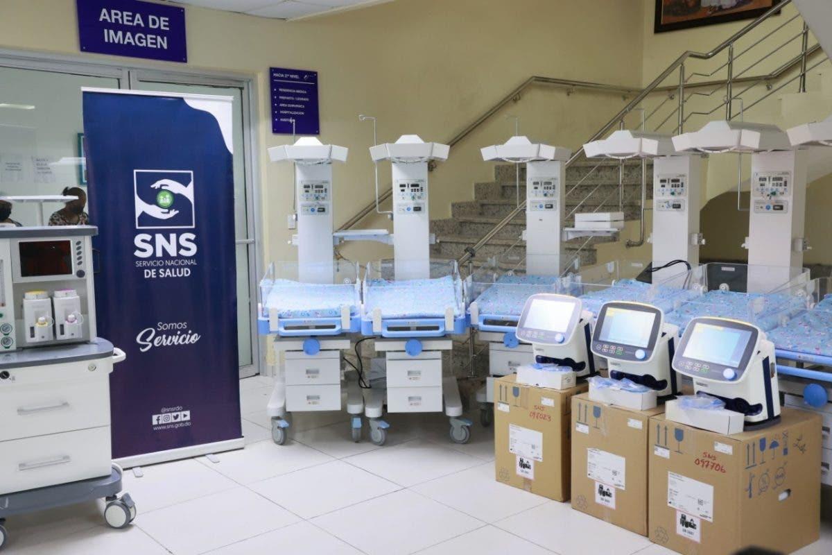 SNS ha invertido más de RD$490 millones para equipos de 72 hospitales y centros de atención primaria