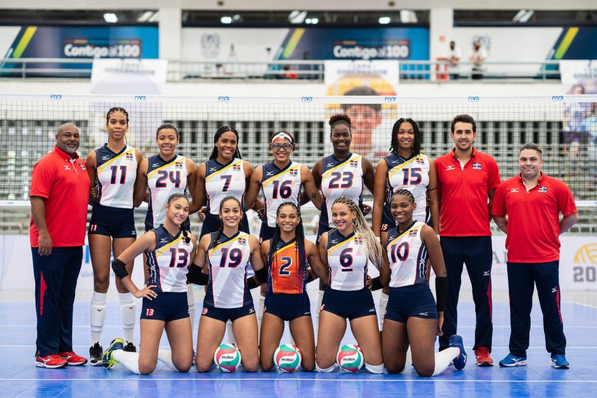 Voleibol Sub-23 de RD clasifica a los Juegos Panamericanos
