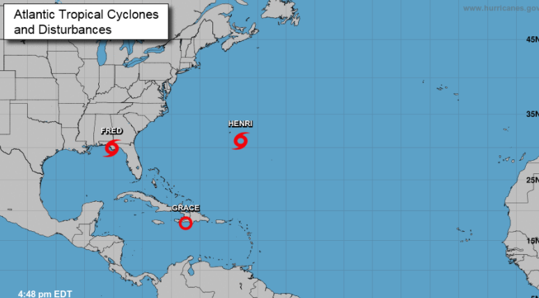 Se forma tormenta tropical Henri; no ofrece peligro para República Dominicana