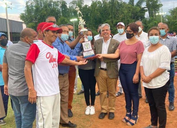 Inauguran XLV torneo béisbol liga campesina de Bonao