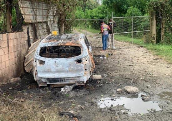 Aún sin mayores detalles sobre hombre desaparecido en Herrera ni su vehículo hallado quemado