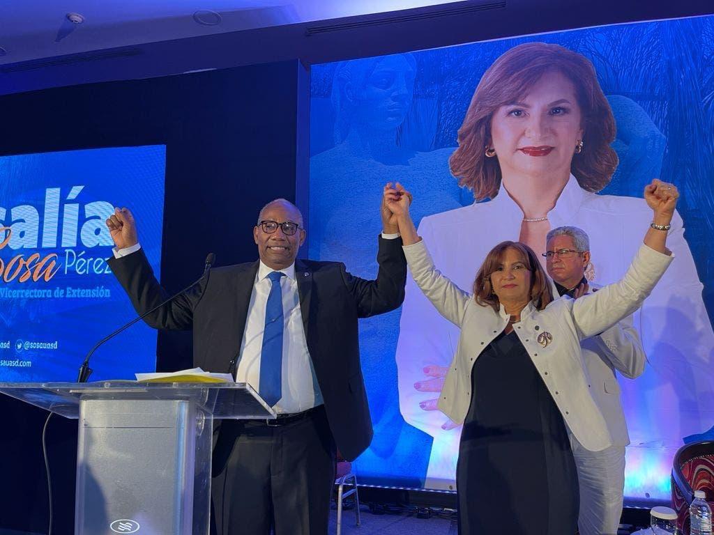 Rosalía Sosa presenta su candidatura a vicerrectoría UASD; anuncia apoyo a Editrudis