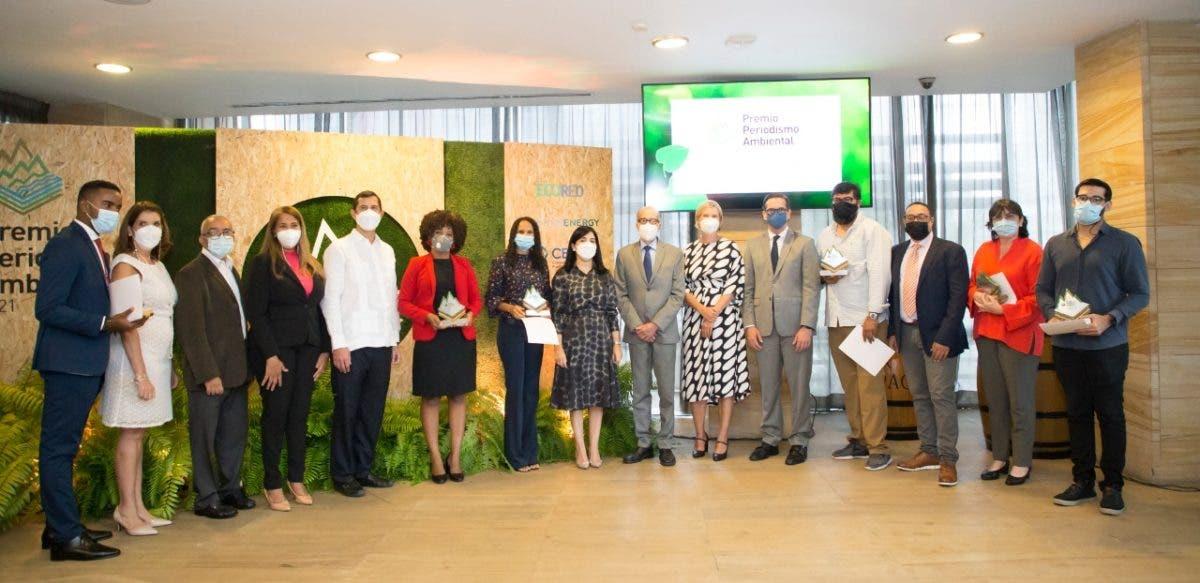 Ganadores del Premio Periodismo Ambiental 2021