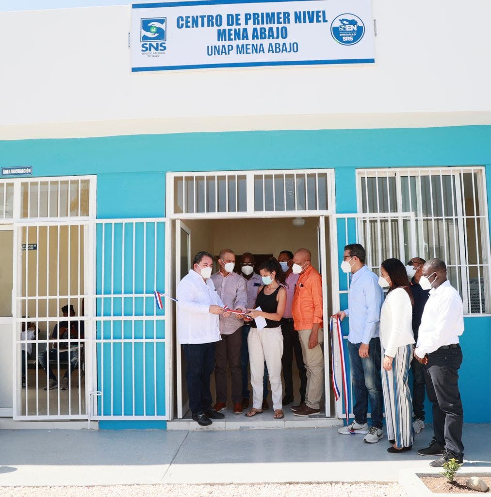 SNS pone en funcionamiento centro de salud de Bahoruco