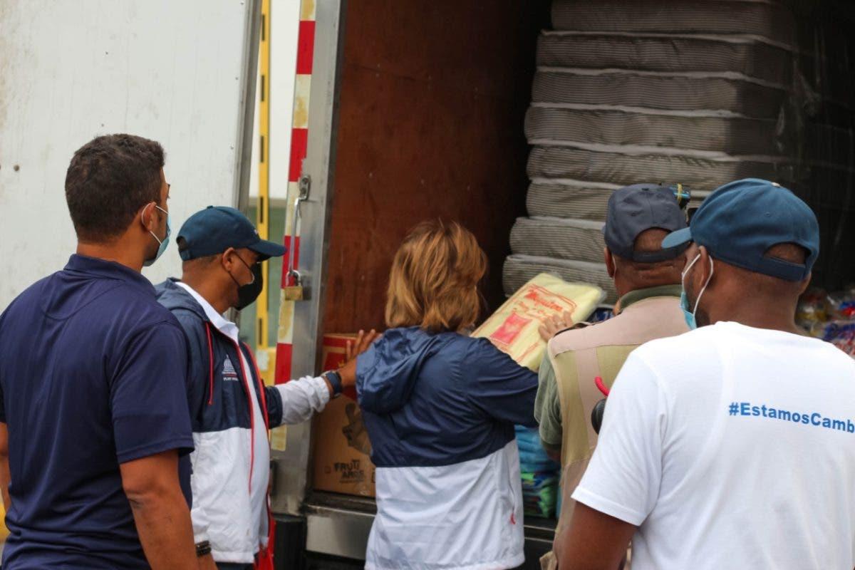 Plan Social preparado con kit de emergencia para asistir a familias tras alerta por Tormenta Fred