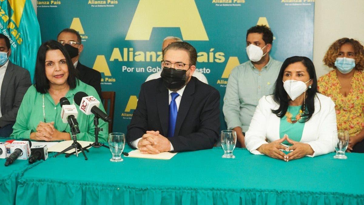 Alianza País: «Primer año de Abinader es una promesa de cambio incumplida»