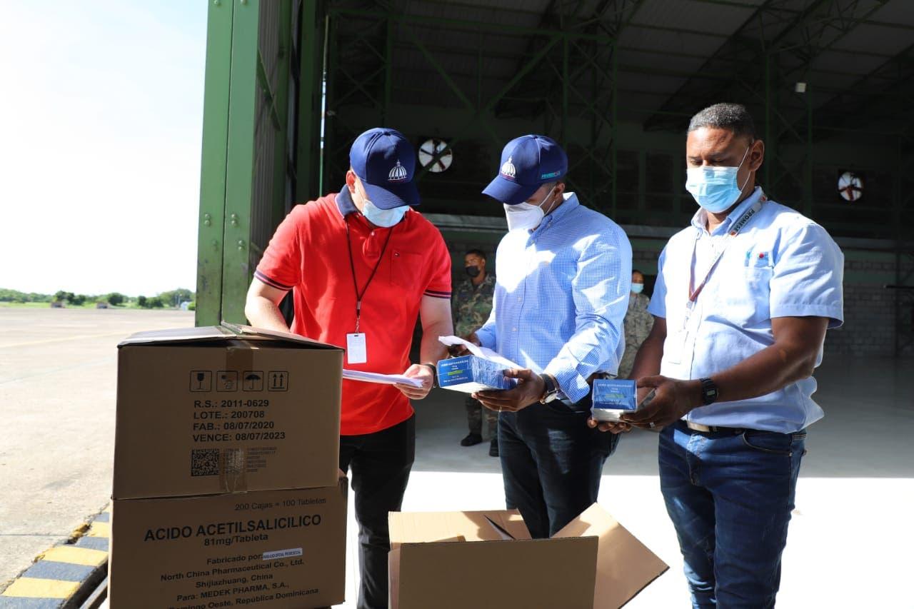 Terremoto en Haití | Alimentos, medicamentos y otros insumos: Lo que envió RD para ayudar al vecino país