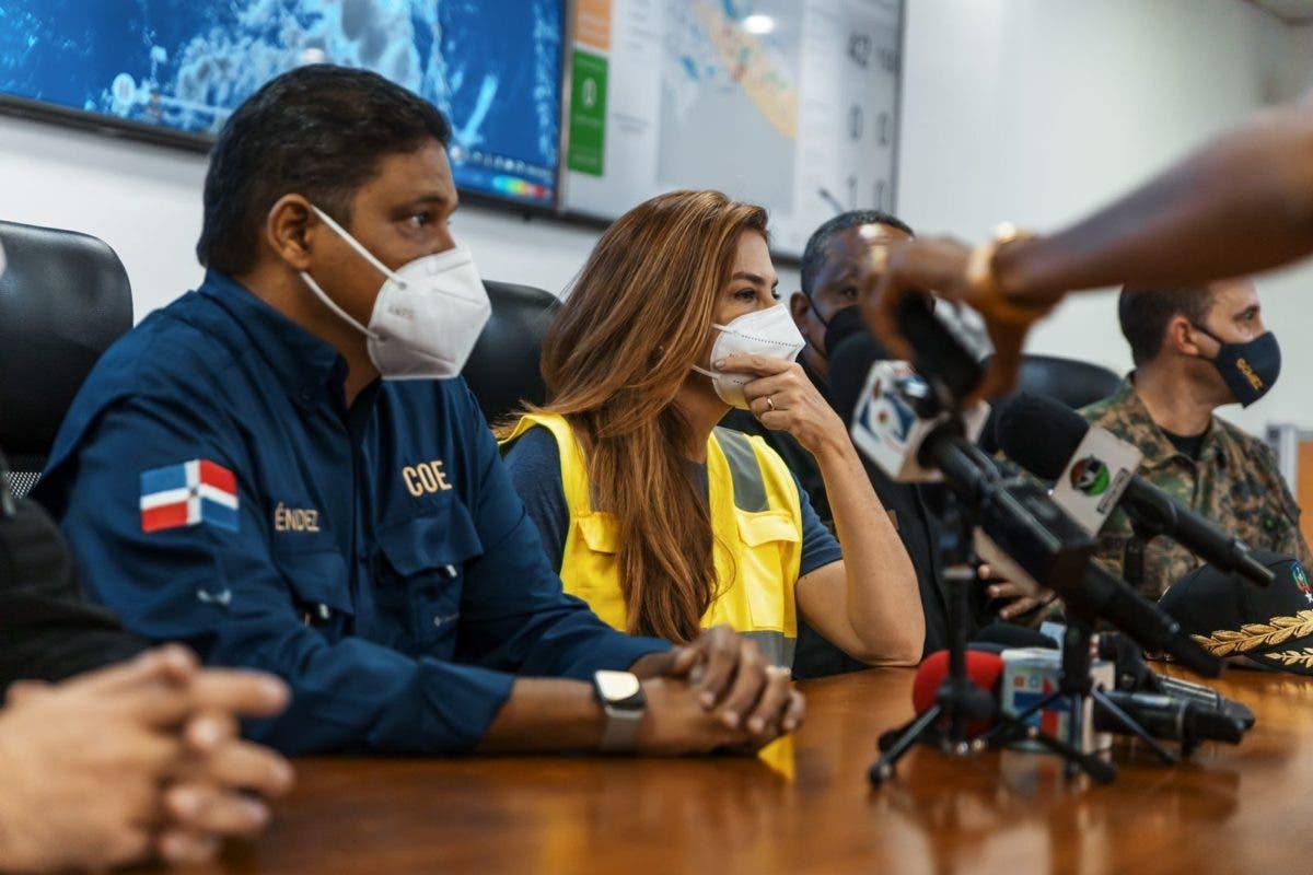 Por depresión Grace, alcaldesa Carolina Mejía supervisa zonas vulnerables