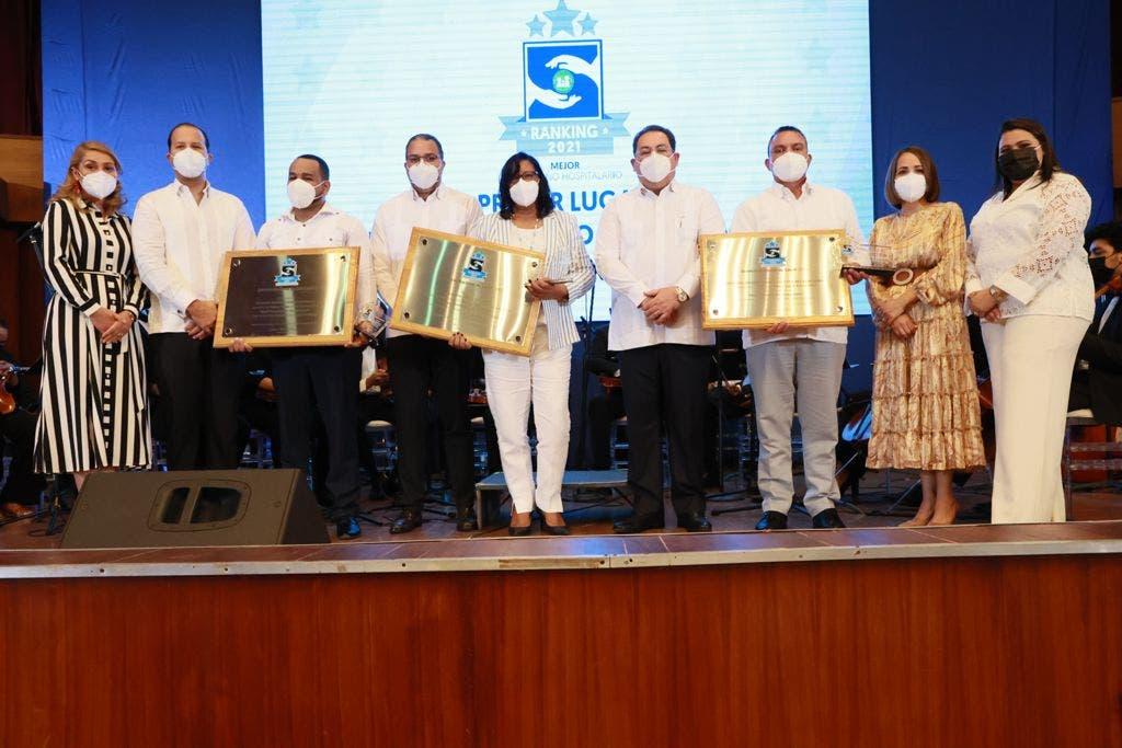 SNS entrega premios a mejor desempeño hospitalario