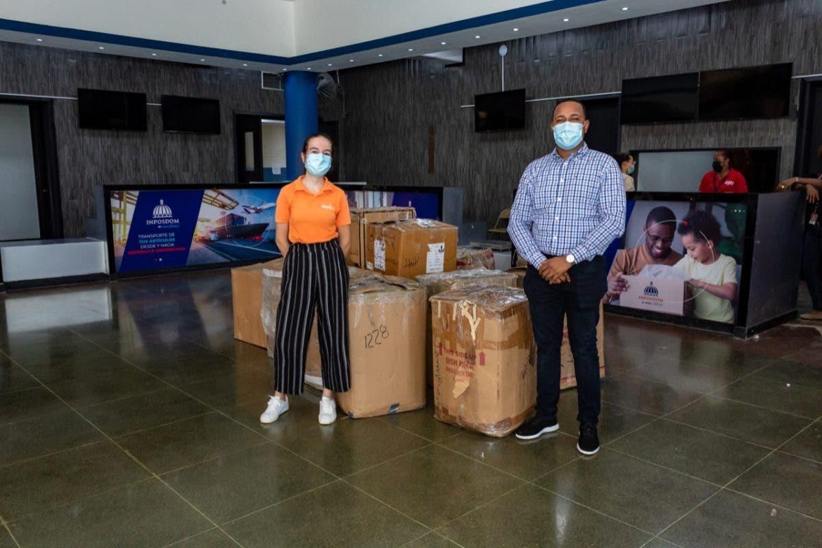 INPOSDOM y Jompéame se unen para intensificar envíos de donaciones hacia Haití