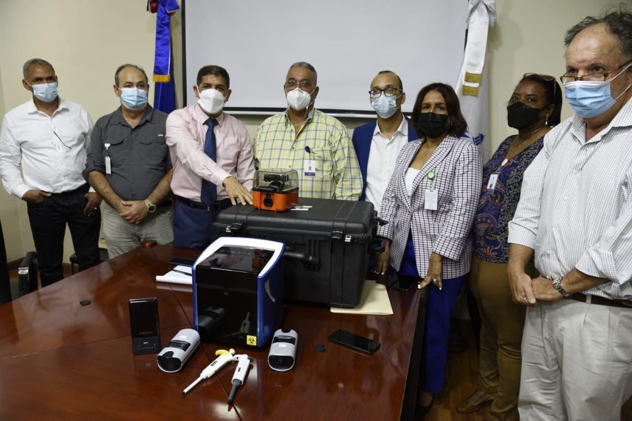 Agricultura adquiere equipo portátil detecta fiebre porcina africana en menos de dos horas