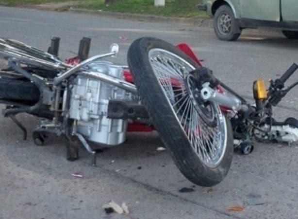 Imagen ilustrativa de accidente de tránsito en motor. Fuente externa