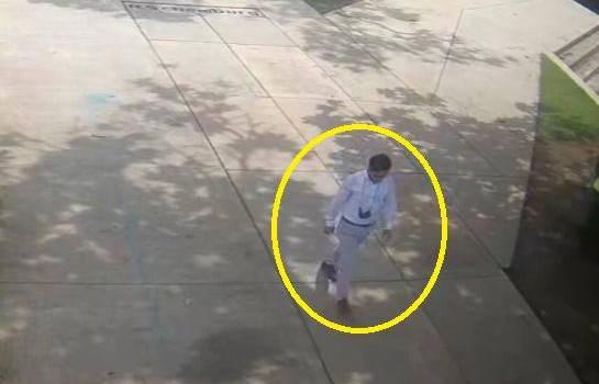 Autoridades difunden la última imagen de Andy Iturbides