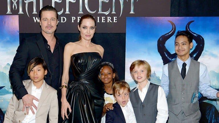 Las explosivas revelaciones que hijos de Angelina Jolie y Brad Pitt podrían hacer en la corte