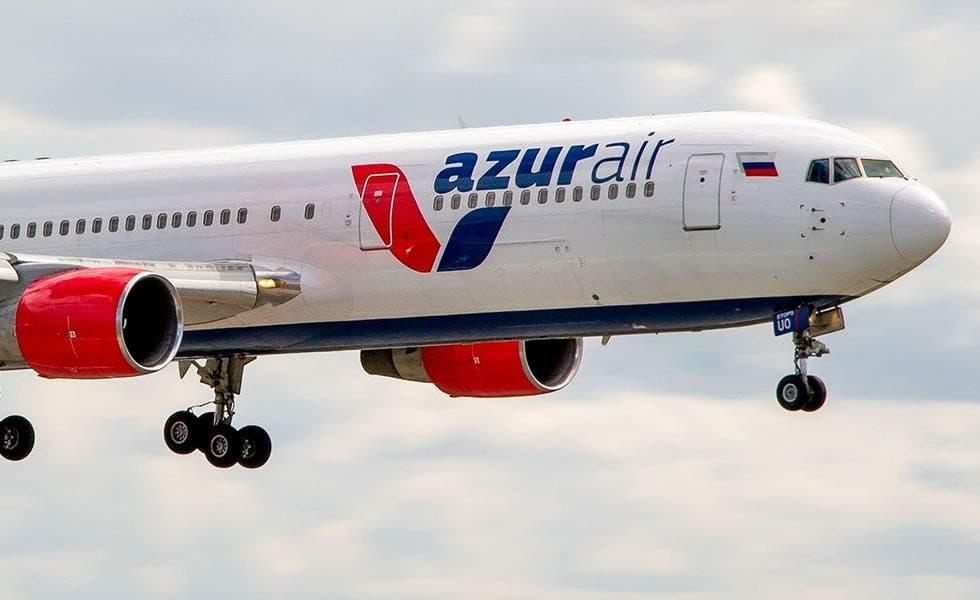 Turismo; Azur Air reanuda vuelo desde Rusia a RD