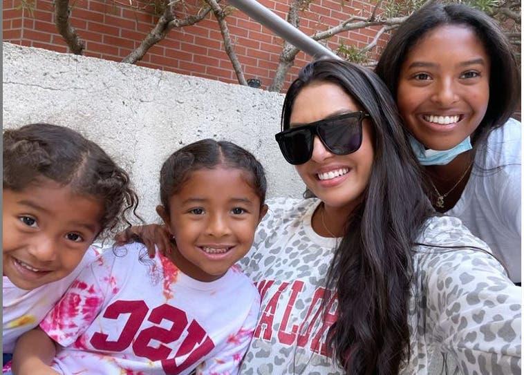 Vanessa Bryant deja a su hija Natalia en la universidad: «Hoy fue un día duro»