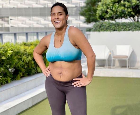 Francisca muestra su figura después del embarazo y famosos la felicitan: «Así se empodera a otras mujeres»