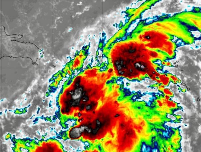Tormenta Grace está generando lluvias en el este de República Dominicana