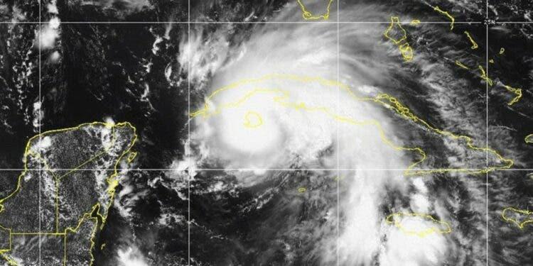 Huracán Ida toca tierra en la Isla de la Juventud, en Cuba