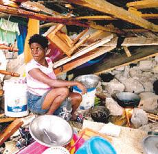 ONU destina ayuda haitianos