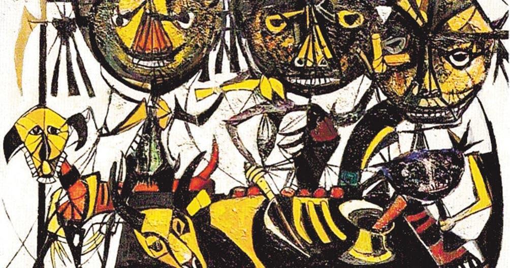 Eligio Pichardo su magia y su pintura de espanto