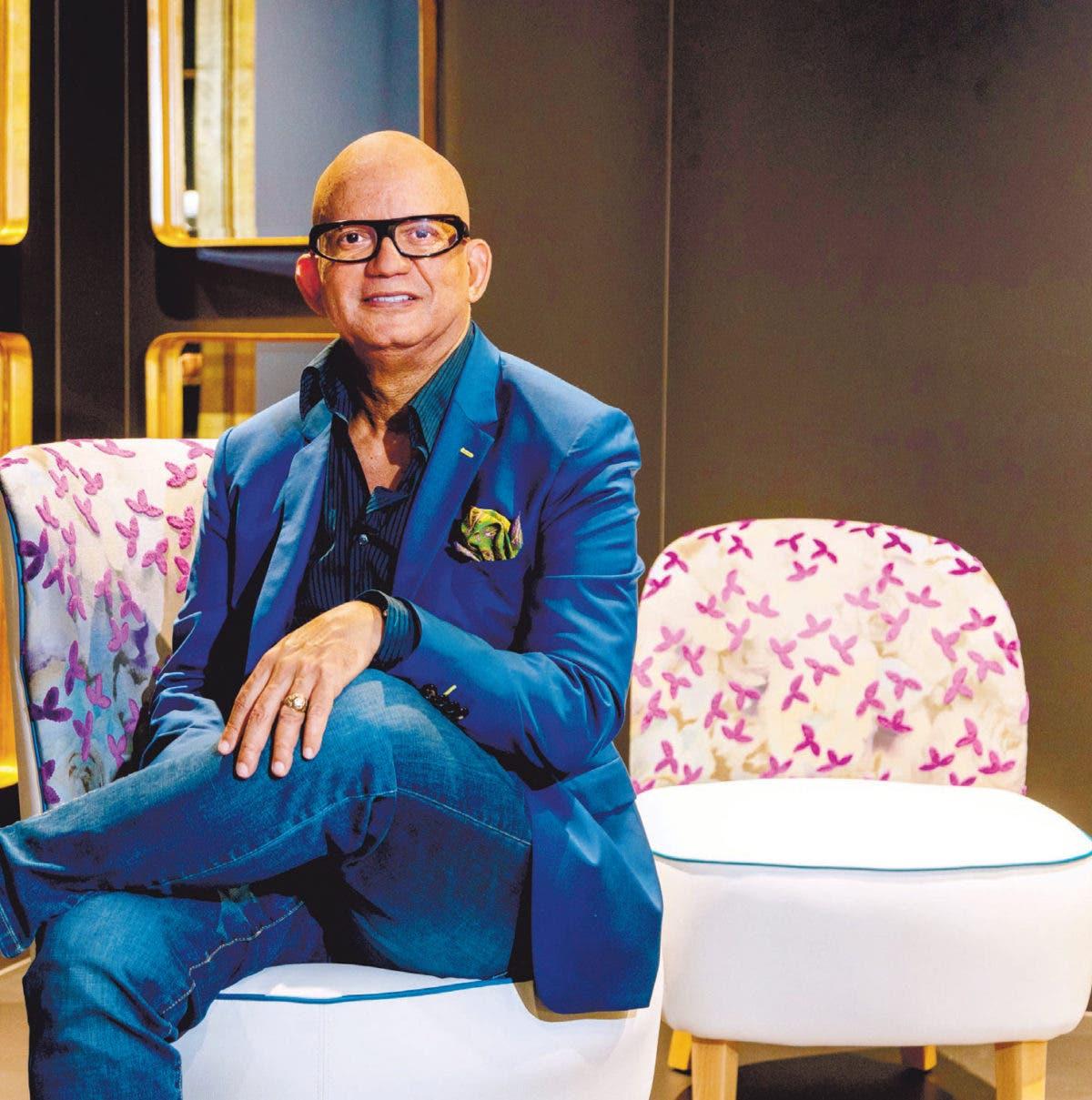 Un dominicano que ha paseado sus diseños por el mundo; RAFAEL ÁLVAREZ