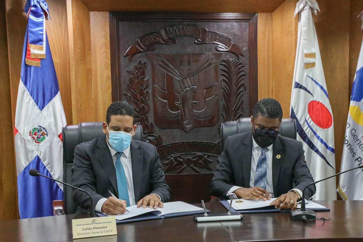 Contrataciones Públicas y Cámara de Cuentas firman acuerdo para conectar sus plataformas tecnológicas