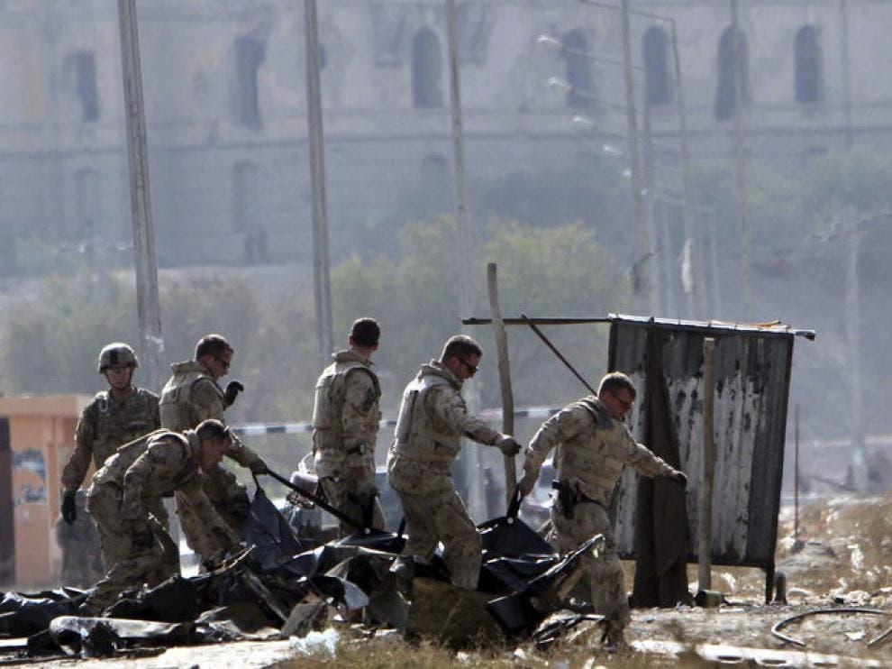 Pentágono confirma que hay estadounidenses y civiles entre víctimas en Kabul