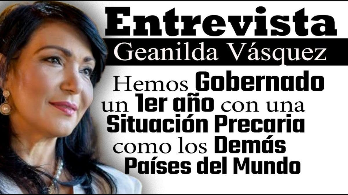 Entrevista a Geanilda Vásquez en el programa Telematutino 11