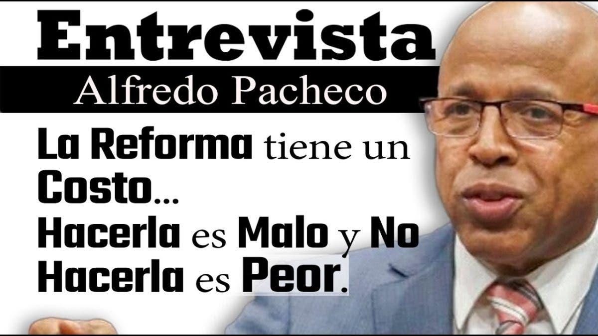 Entrevista a Alfredo Pacheco en el programa Telematutino 11